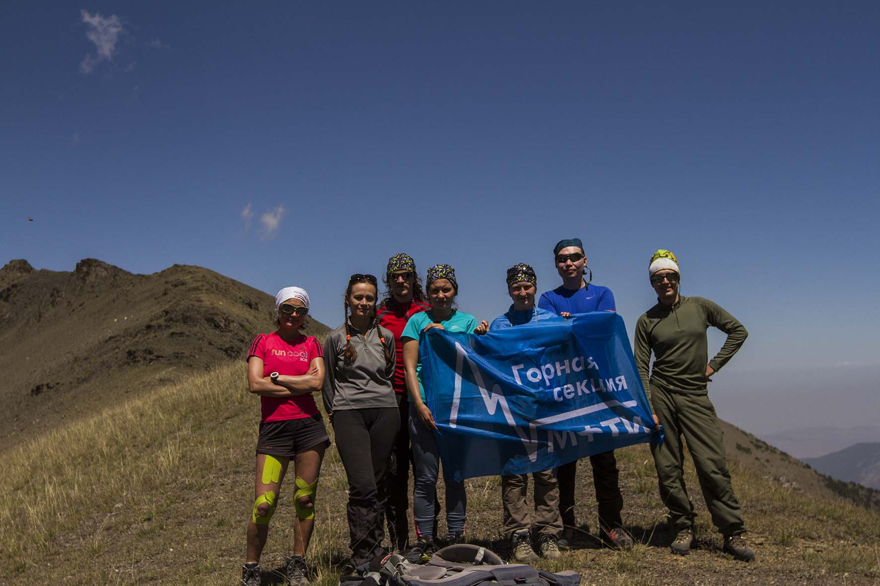 группа на пер. Гандакуш (н/к, 3500 м)