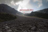перевальный взлет пер. Гандакуш со стороны долины р. Опурсай