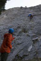 скальные занятия на скалодроме возле а/л Дугоба