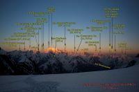 вид с перевальной седловины пер. Беседина (3А, 5200 м) в сторону лед. Гармо