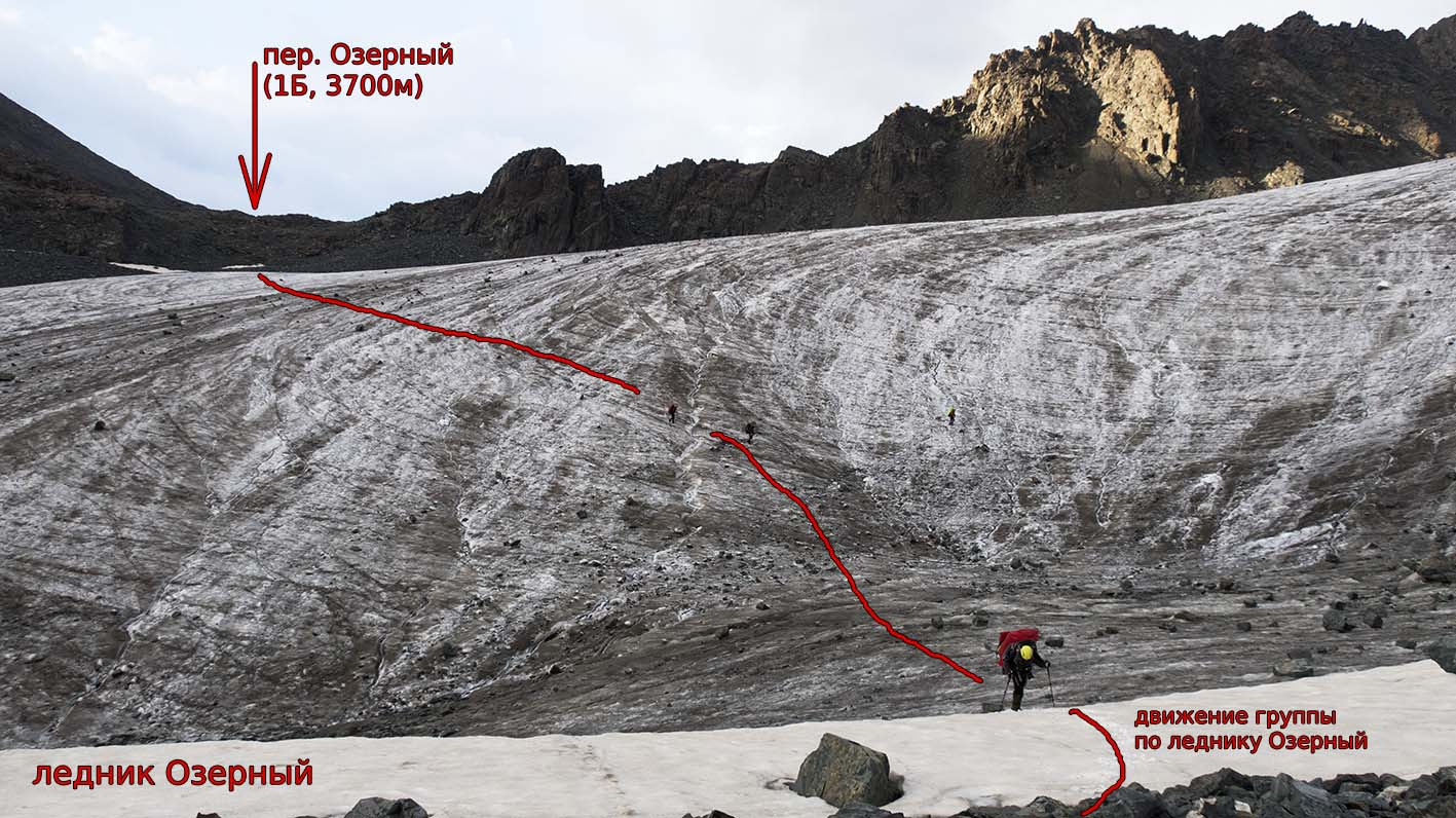 Вид на пер. Озерный (1Б, 3700) со стороны лед. Озерный