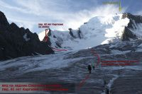 Пер. 40 лет Киргизии (2А, 4000 м) и пик Тельмана с лед. Озерный